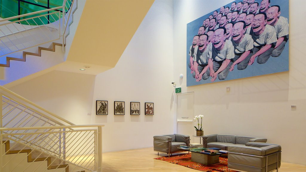 Hess Collection which includes art and interior views