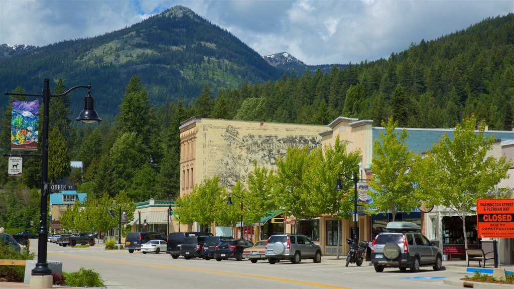 Rossland showing tranquil scenes