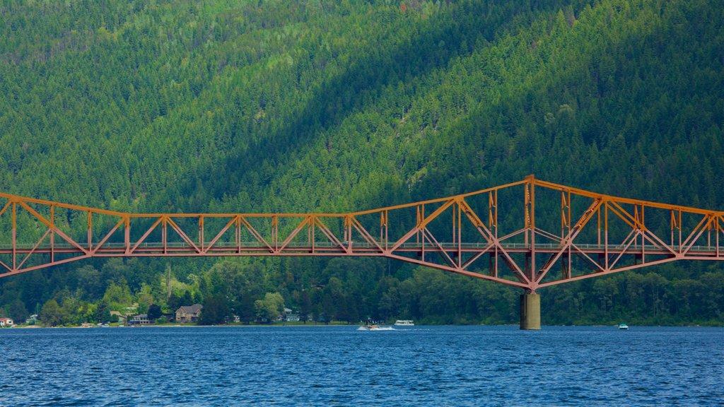 Nelson ofreciendo un puente, un lago o abrevadero y escenas tranquilas