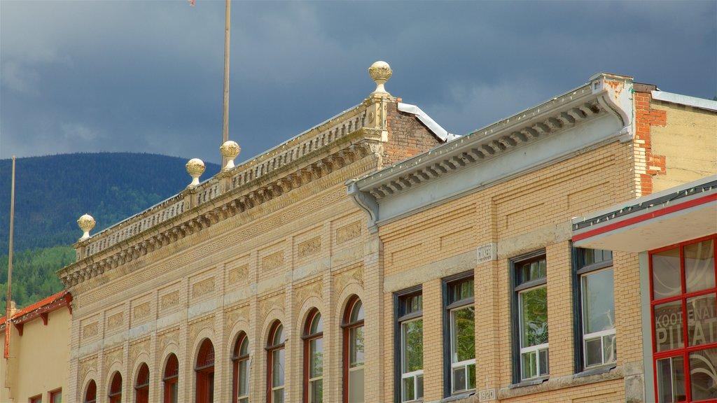 Castlegar mostrando elementos del patrimonio