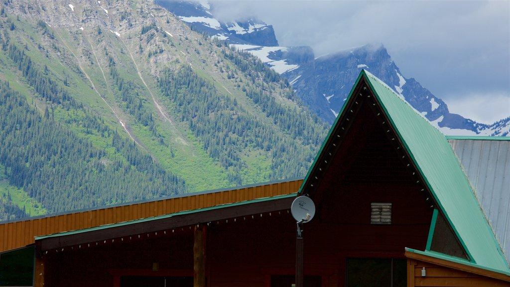 Fernie Alpine Resort showing tranquil scenes