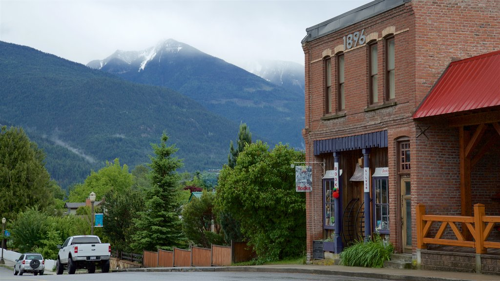Kaslo featuring heritage elements and tranquil scenes