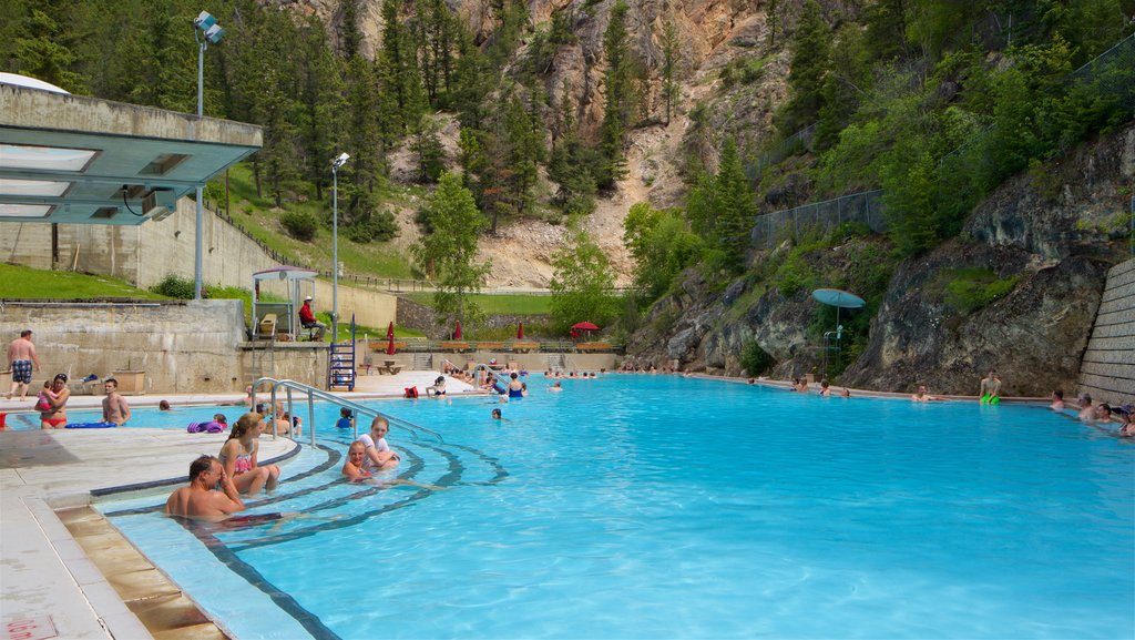 Kootenay National Park featuring swimming, a pool and tranquil scenes