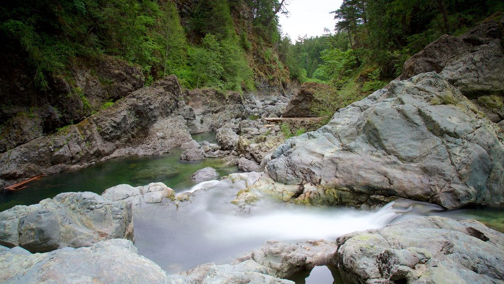 Sooke which includes a river or creek