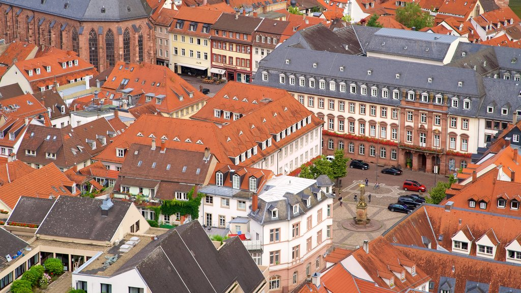 Heidelberg featuring a square or plaza and a city