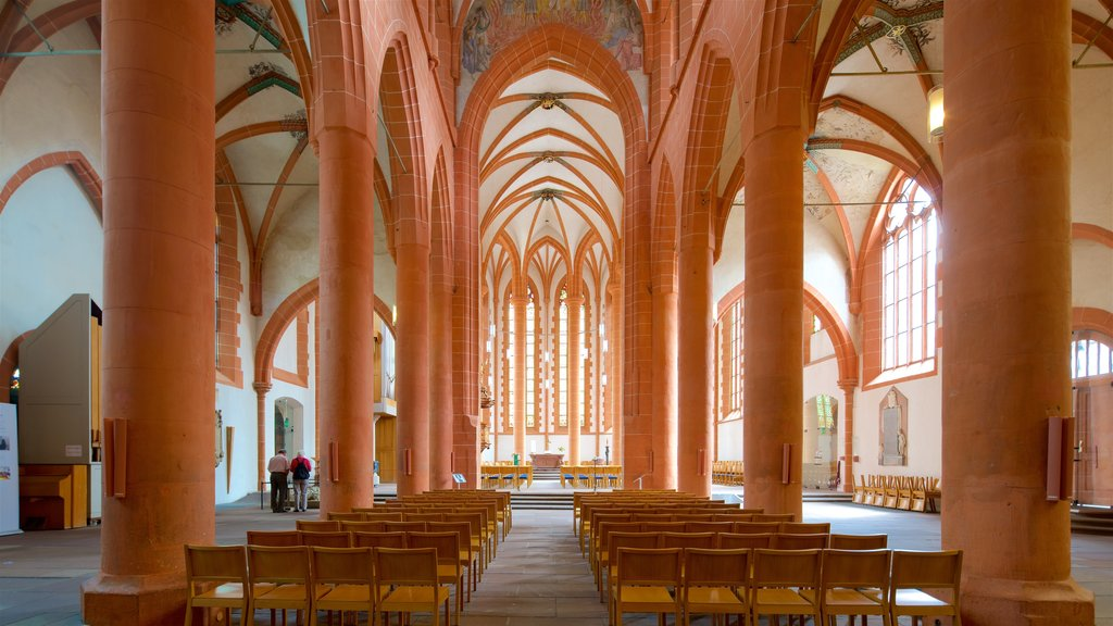 Heidelberg Church of the Holy Spirit which includes interior views, a church or cathedral and heritage elements