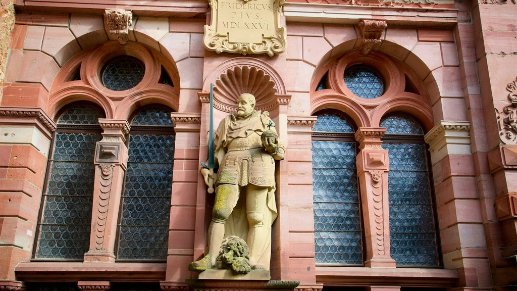 Heidelberg Castle featuring heritage elements