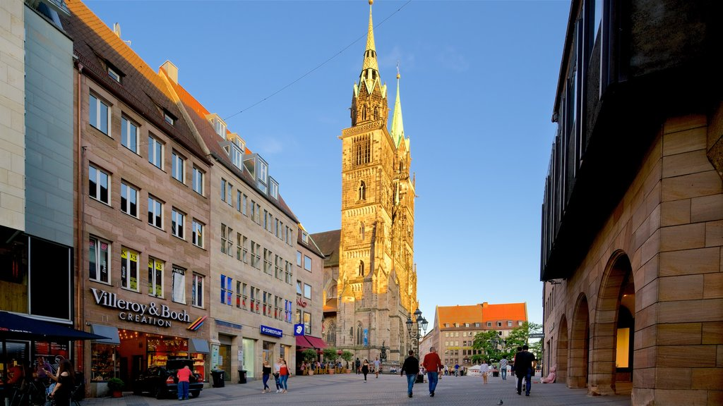 St. Lorenz Church showing heritage elements and a church or cathedral
