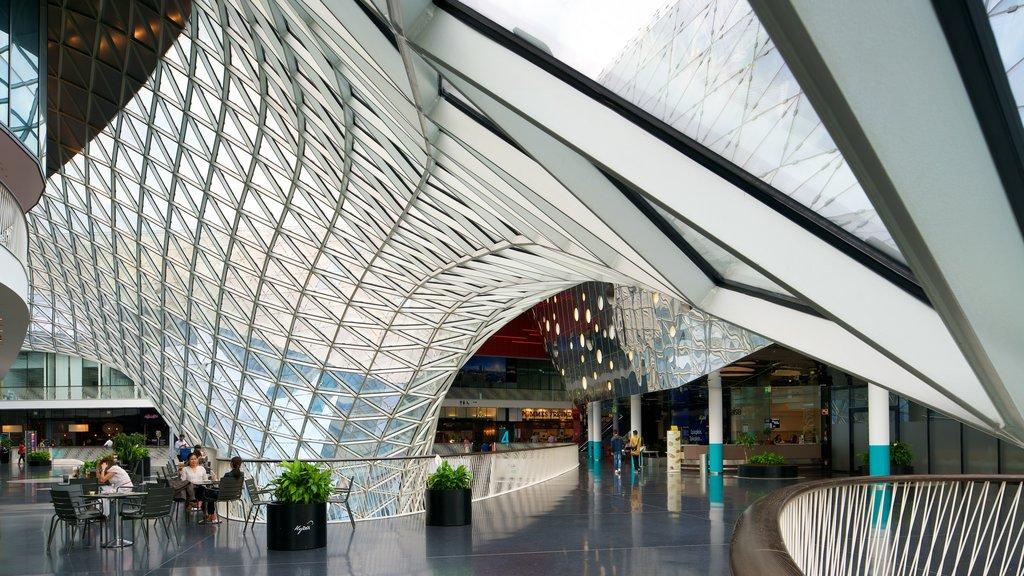 Frankfurt showing interior views and shopping