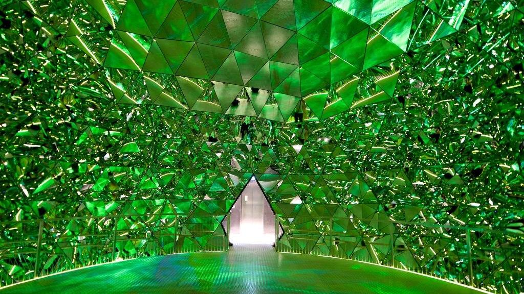 Swarowski Crystal Worlds featuring interior views