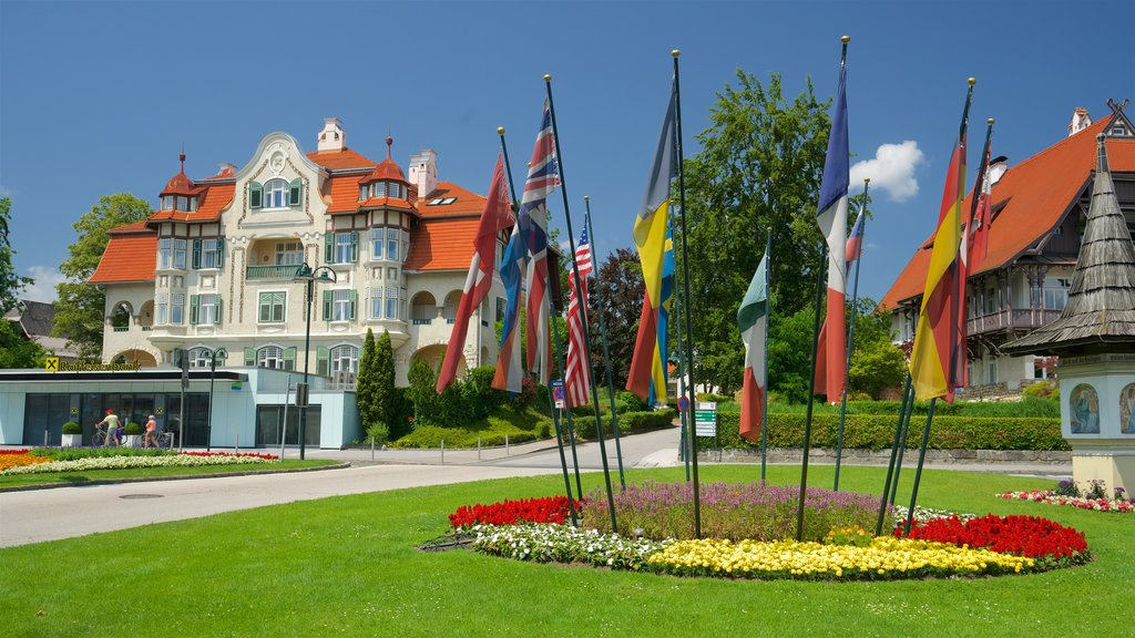 Velden am Woerthersee featuring heritage elements, flowers and a garden