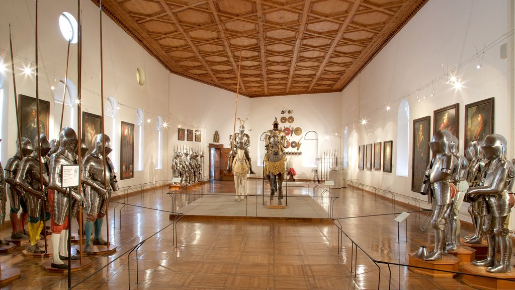Ambras Castle showing heritage elements and interior views