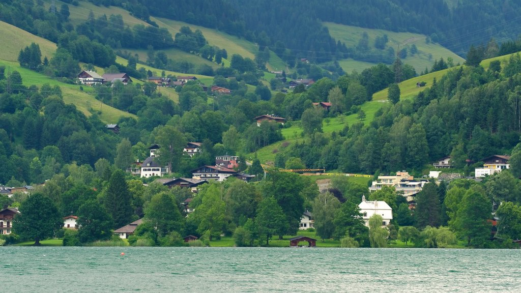 Zell am See - Pinzgau showing a small town or village, tranquil scenes and a lake or waterhole