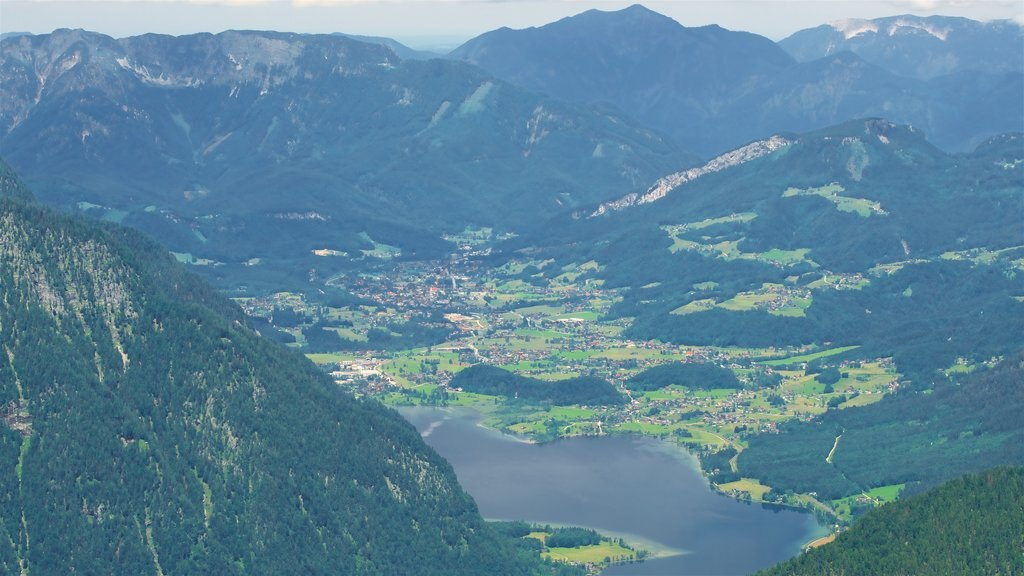 Dachstein Krippenstein which includes heritage architecture, landscape views and a small town or village