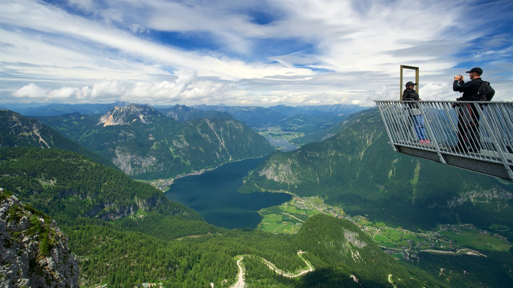 Hallstatt featuring mountains, views and tranquil scenes