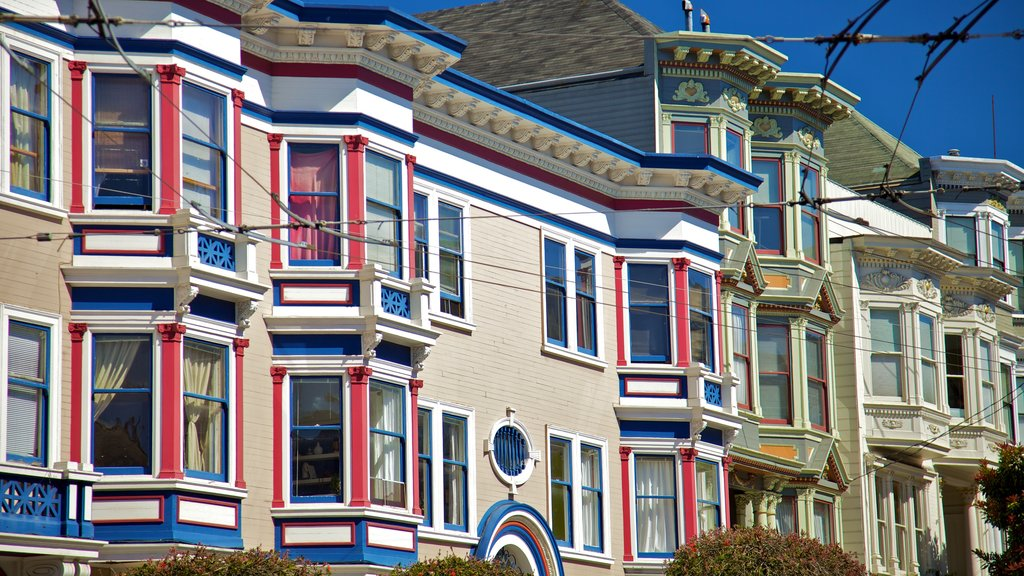 Haight-Ashbury featuring a city, a house and heritage architecture
