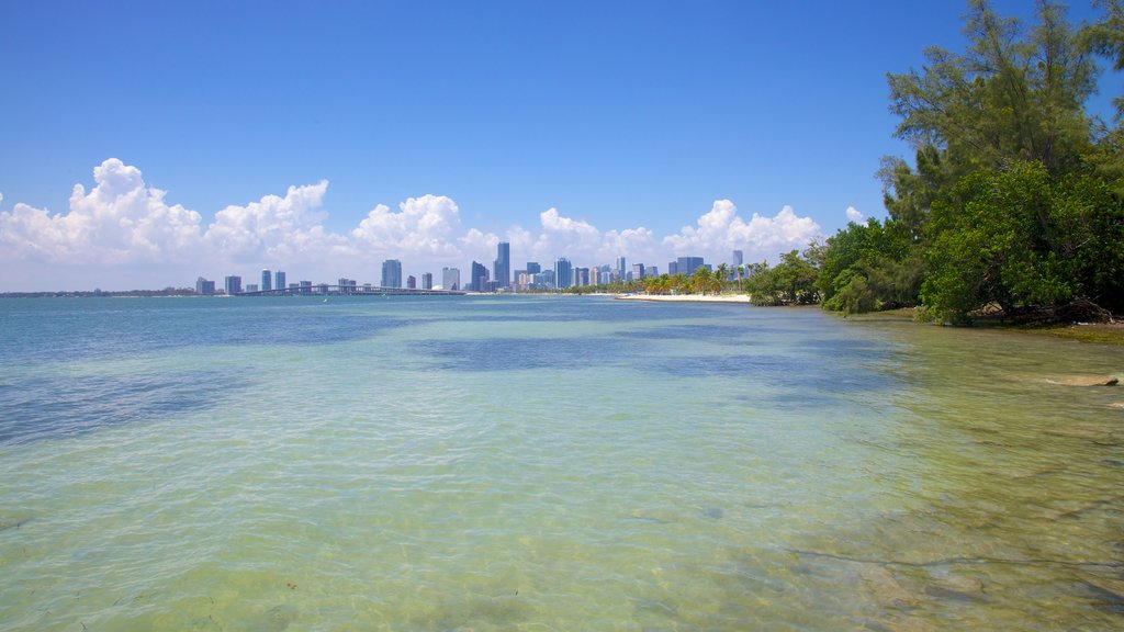 Key Biscayne featuring general coastal views, a beach and landscape views