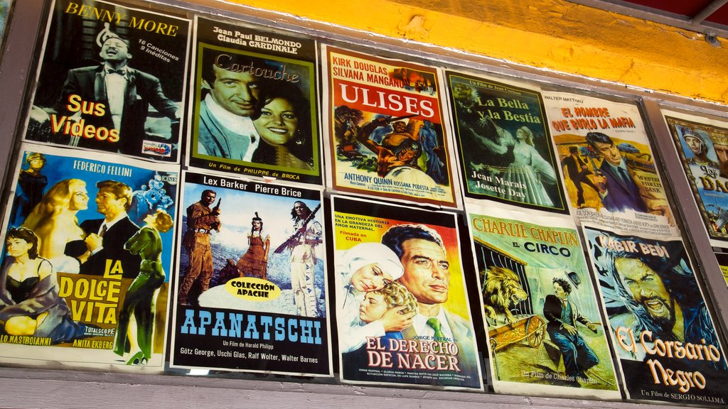 Little Havana which includes art and signage