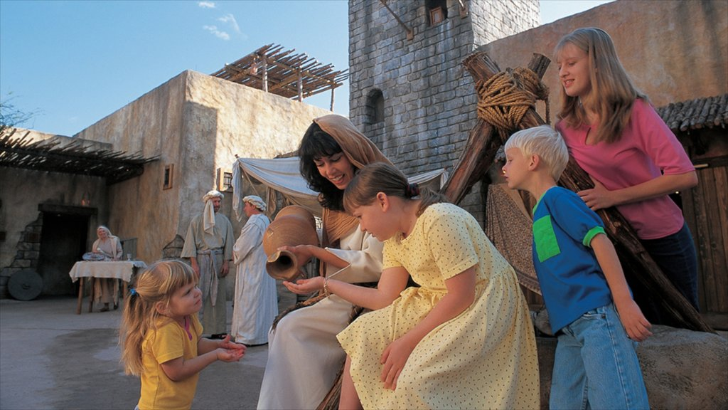 Holy Land Experience as well as a family