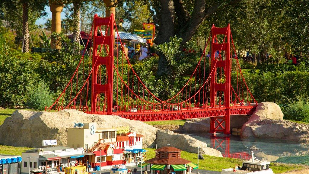 Legoland Florida featuring rides