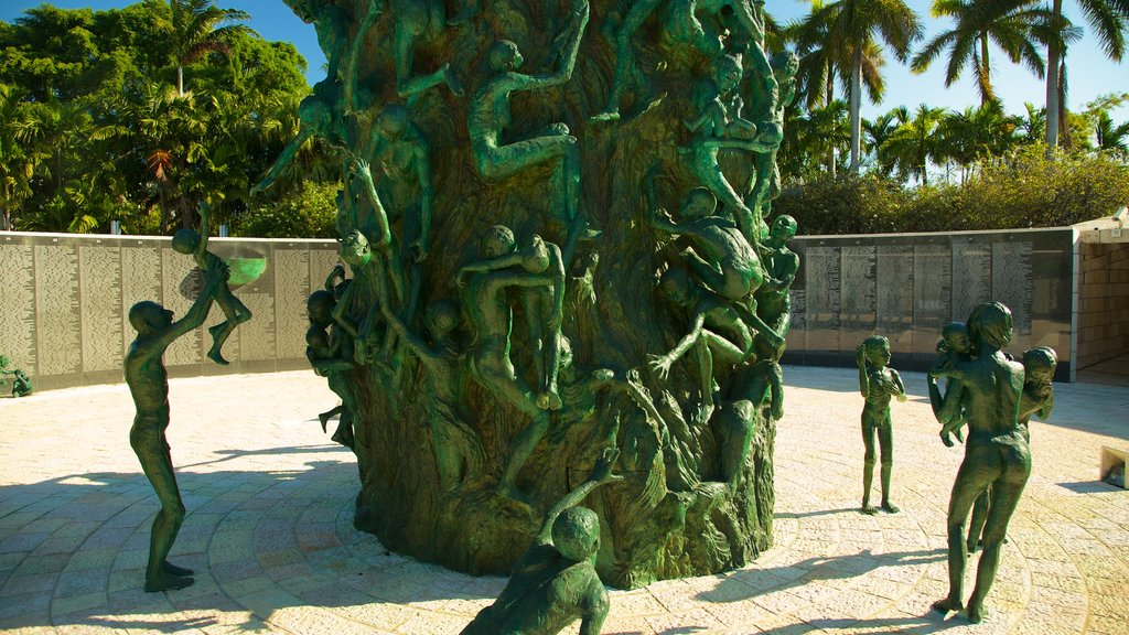 Miami featuring a monument, outdoor art and a statue or sculpture