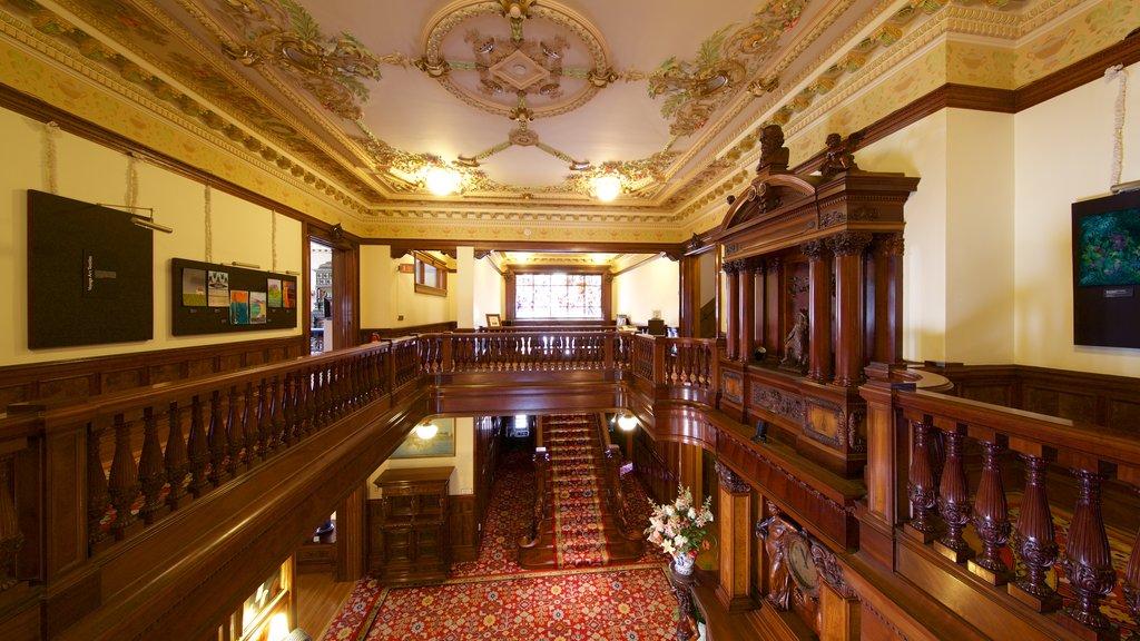 American Swedish Institute ofreciendo elementos del patrimonio y vistas interiores