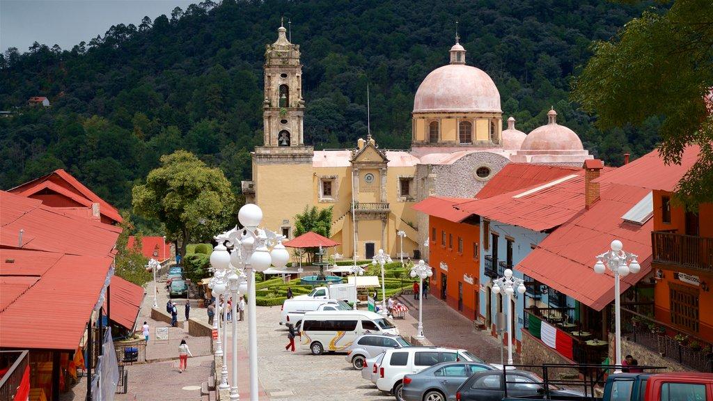 Pachuca mostrando elementos del patrimonio