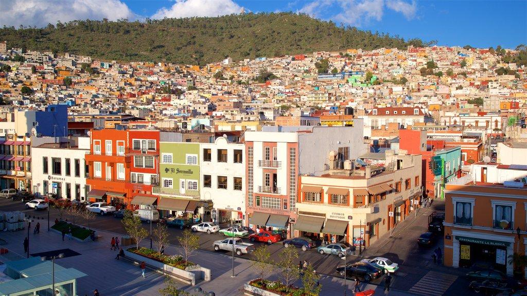 Pachuca que incluye una ciudad