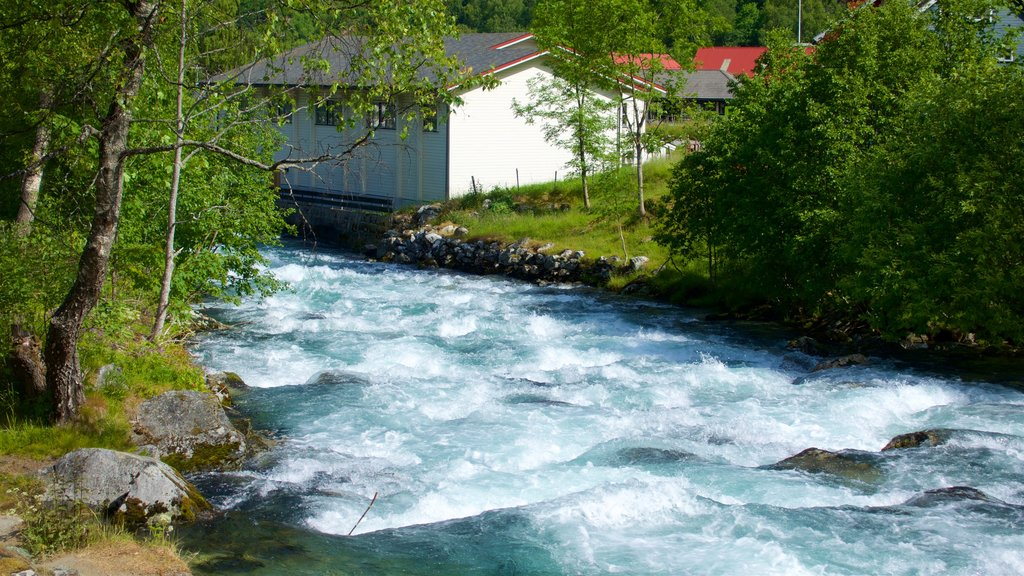 Geiranger showing rapids