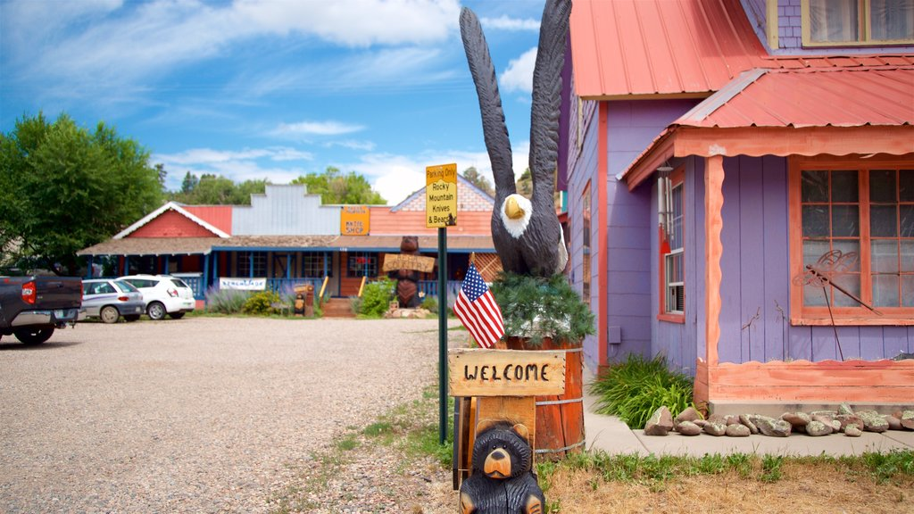 Pagosa Springs featuring signage