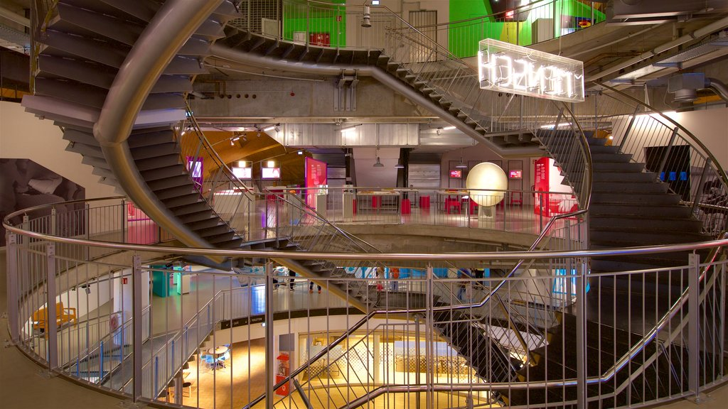 Universum Science Center featuring interior views