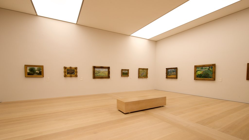 Kunsthalle Bremen featuring interior views and art