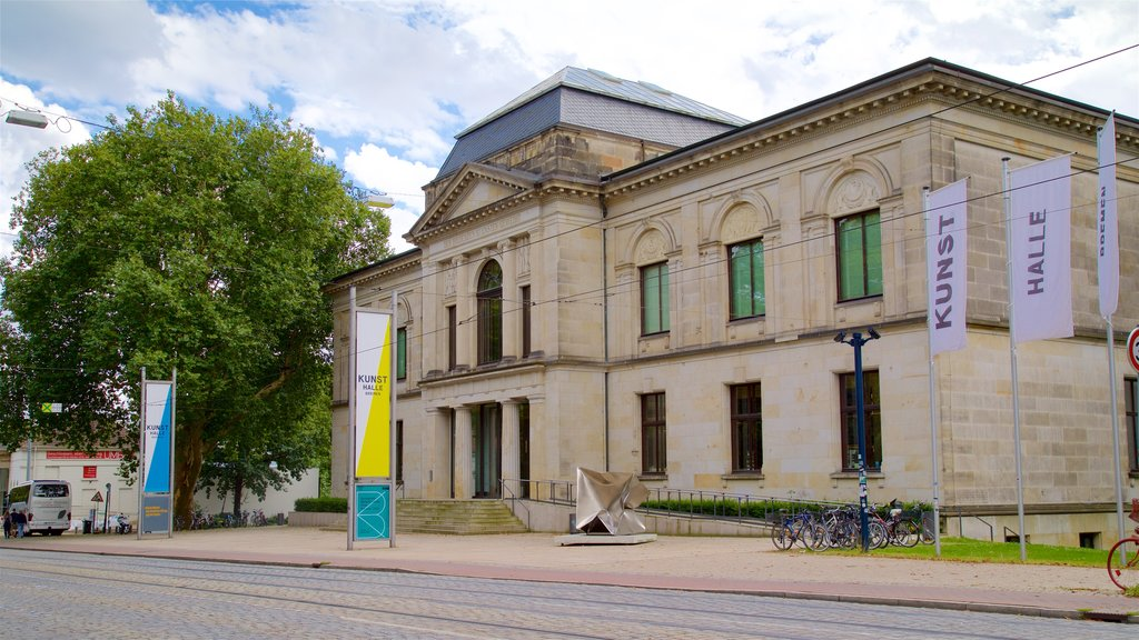Kunsthalle Bremen which includes heritage elements