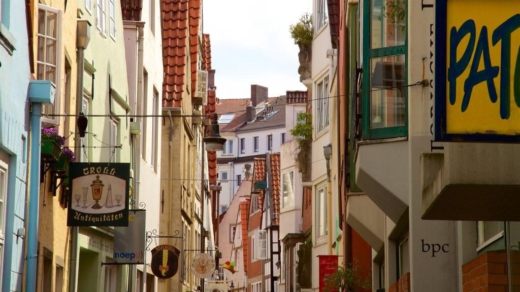 Bremen que incluye elementos del patrimonio