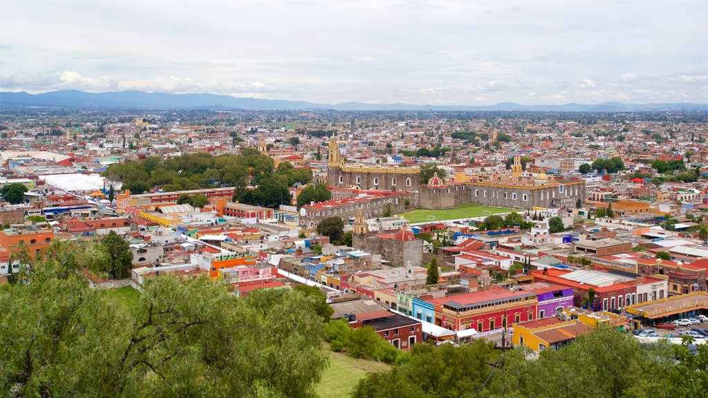 Cholula featuring a city and landscape views