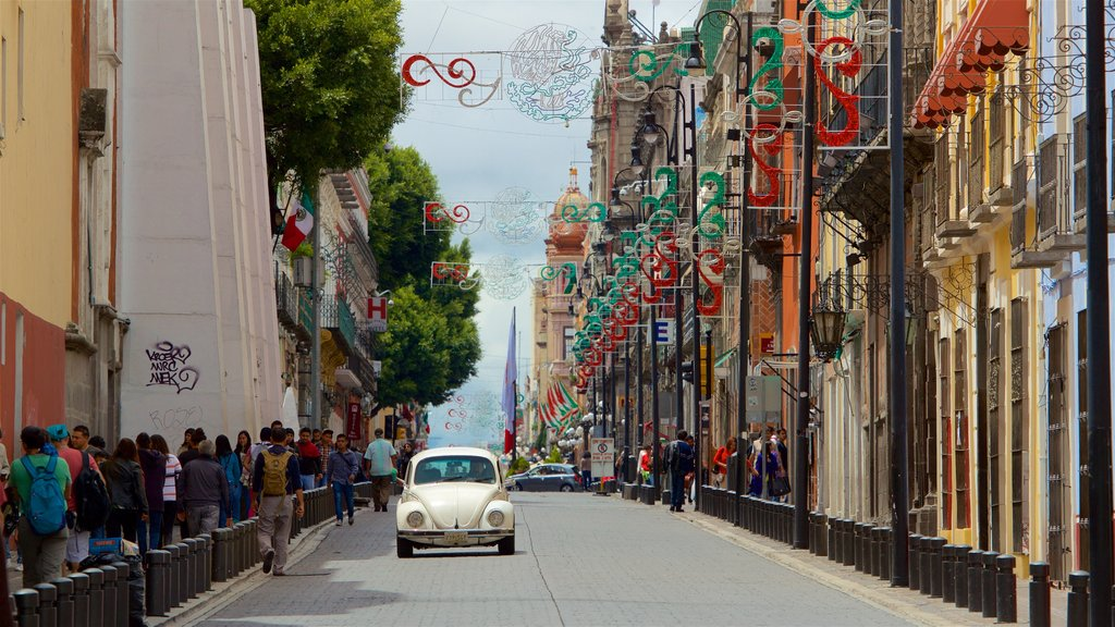 Puebla which includes a city