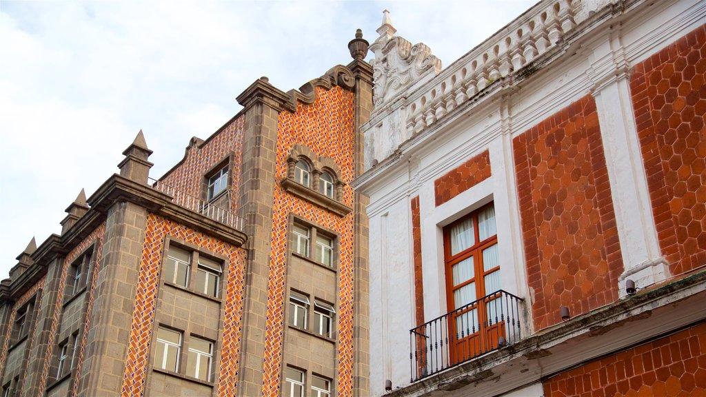 Puebla featuring heritage elements