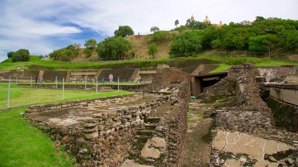 San Andrés Cholula featuring building ruins