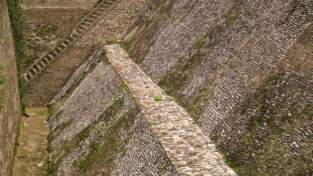 San Andrés Cholula showing a ruin
