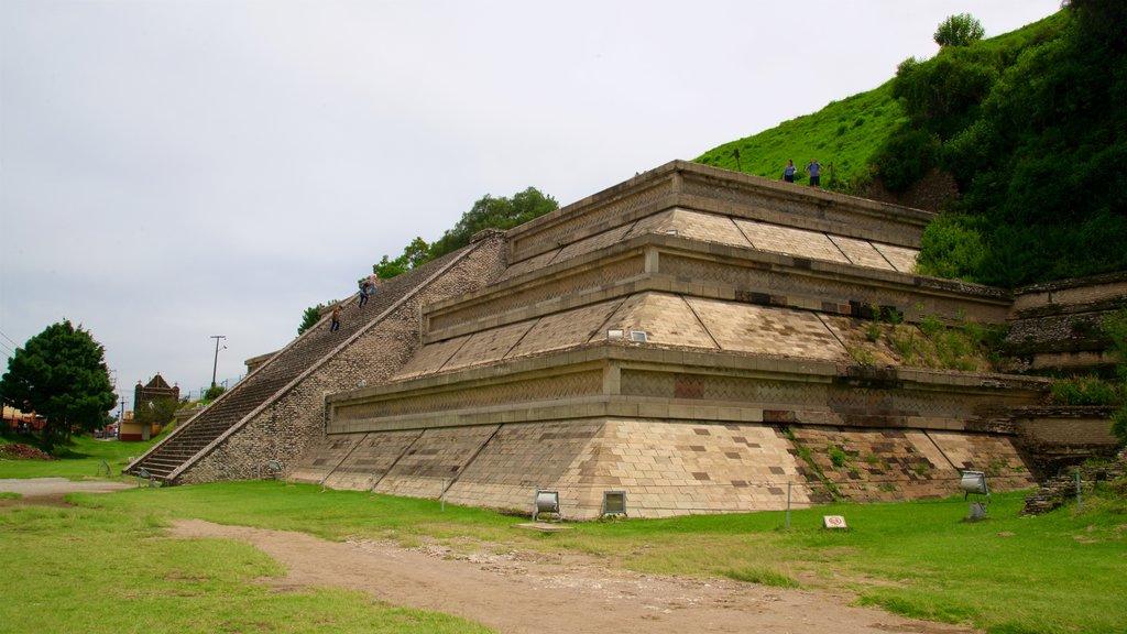 San Andrés Cholula which includes heritage elements