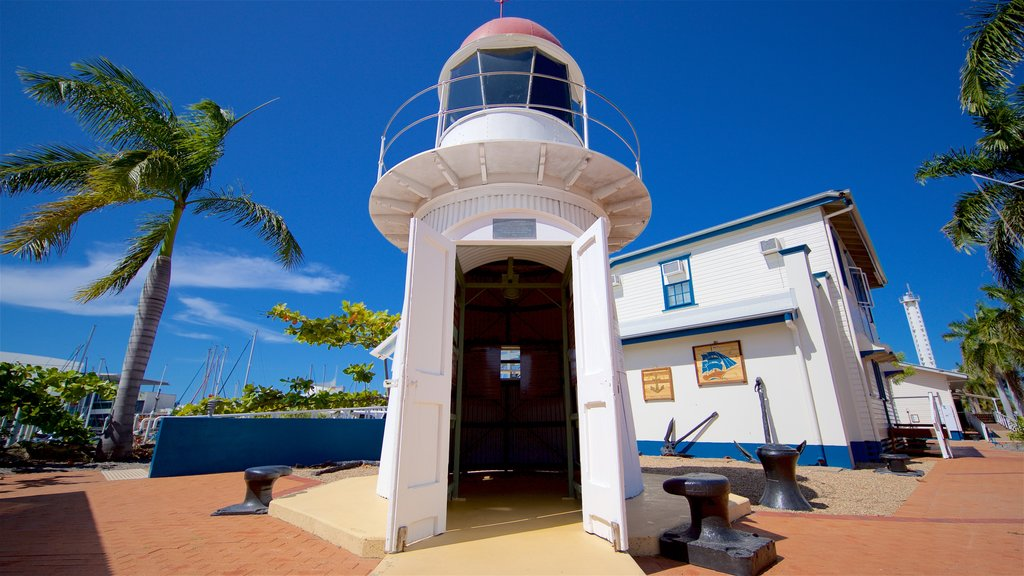 Maritime Museum of Townsville featuring a lighthouse