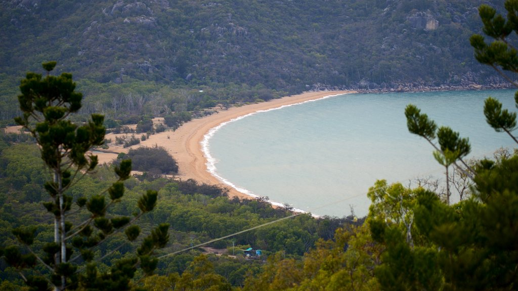Magnetic Island National Park showing tranquil scenes, a sandy beach and general coastal views