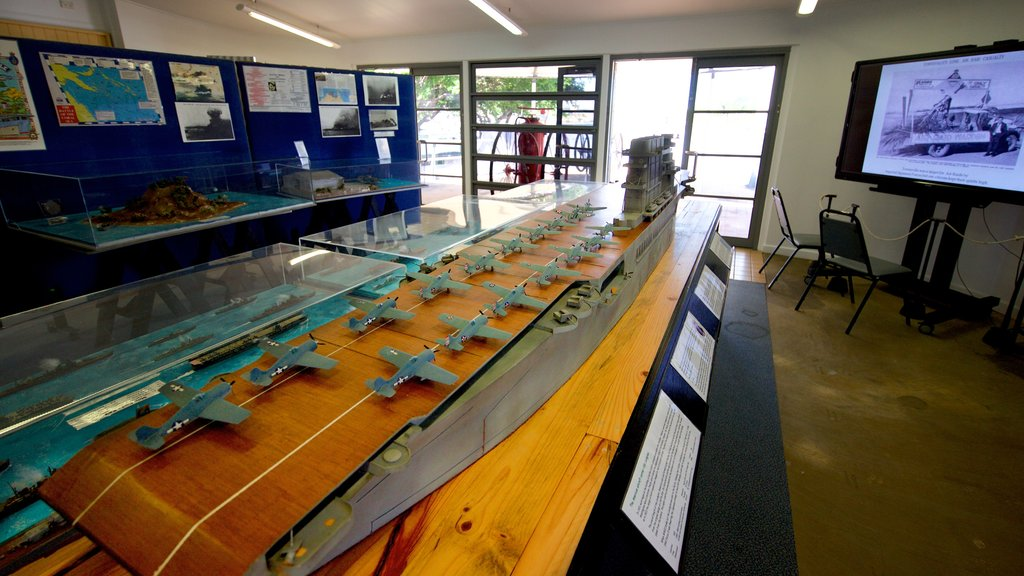 Maritime Museum of Townsville which includes interior views