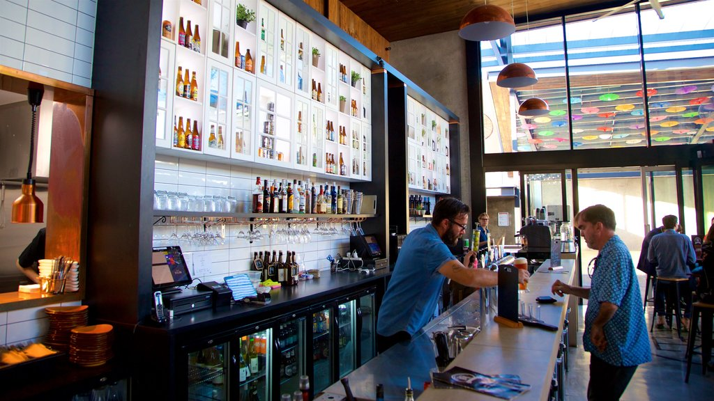 Townsville which includes interior views and a bar as well as an individual male