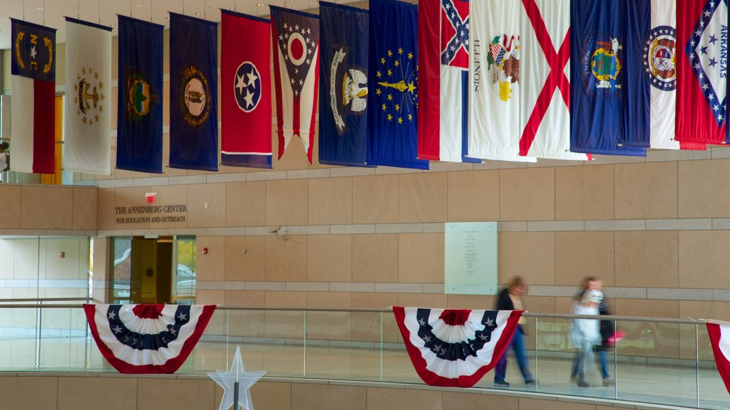 National Constitution Center which includes interior views