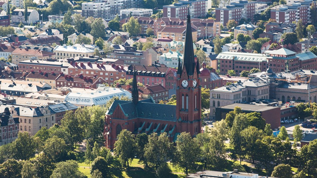Sundsvall which includes a city