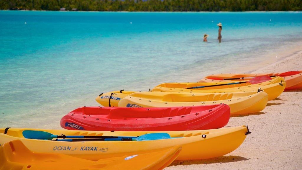 Bora Bora featuring a sandy beach and general coastal views