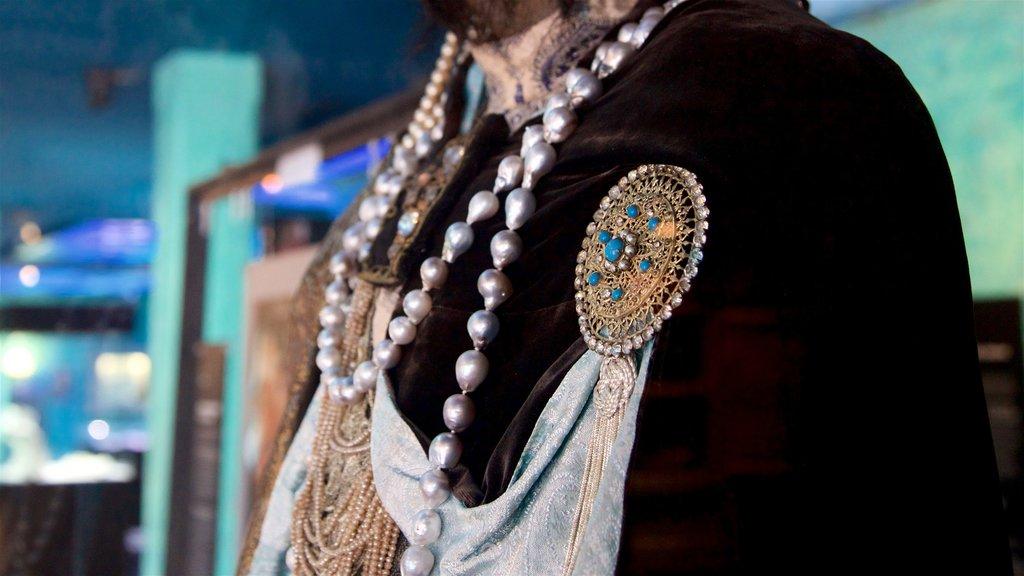 Museo de la Perla Negra que incluye vistas interiores