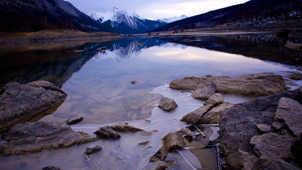 Medicine Lake featuring a lake or waterhole