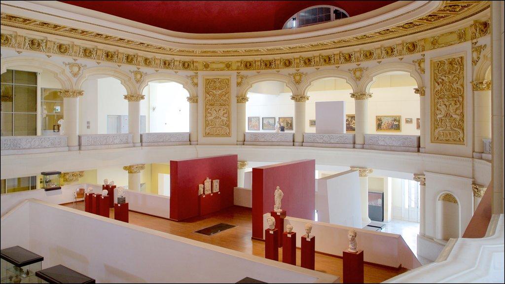 La Habana ofreciendo vistas interiores y elementos del patrimonio